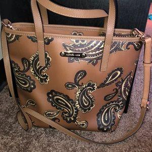 Michale Kors large cross body purse